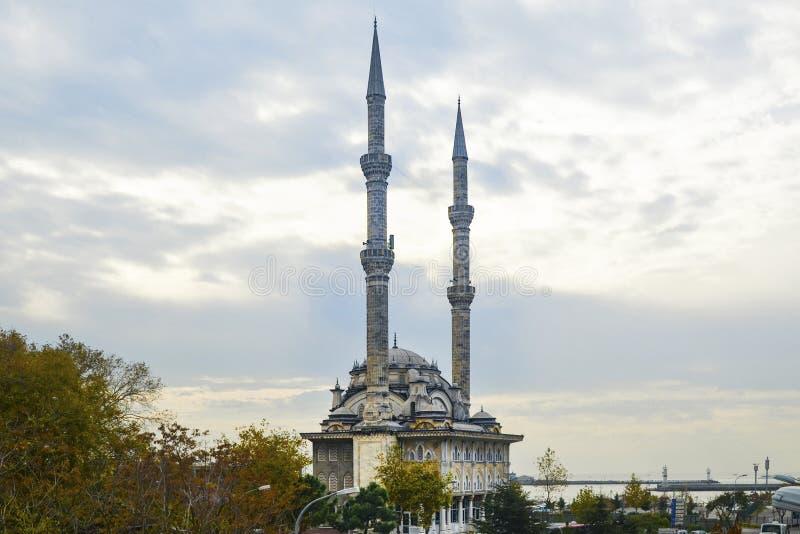 Istanbul, Protokoll Haydarpasa-Moschee stockfoto