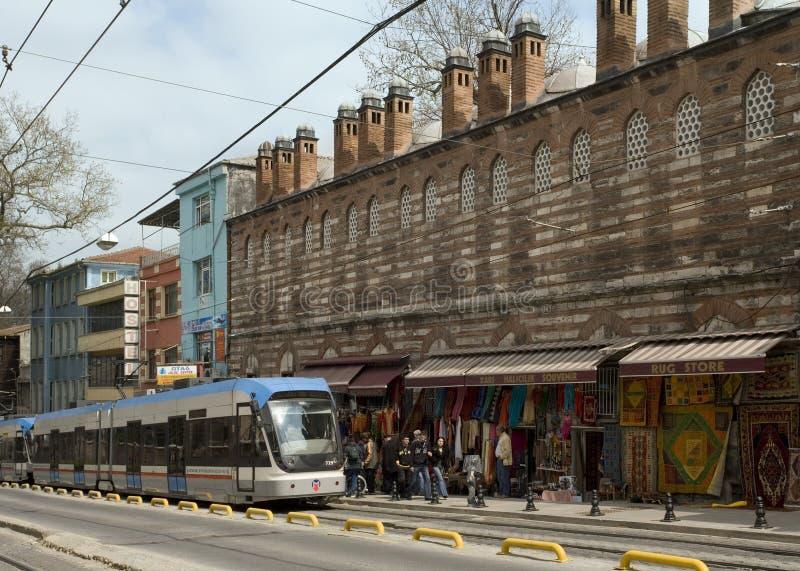 Istanbul rapid transport system - Turkey royalty free stock photo