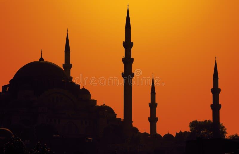 istanbul słońca zdjęcie stock