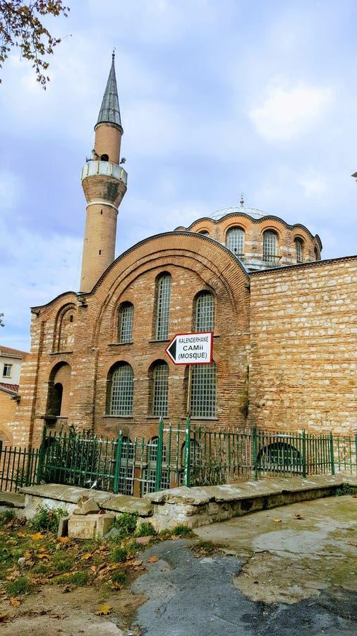 Istanbul& x27; s清真寺 库存图片