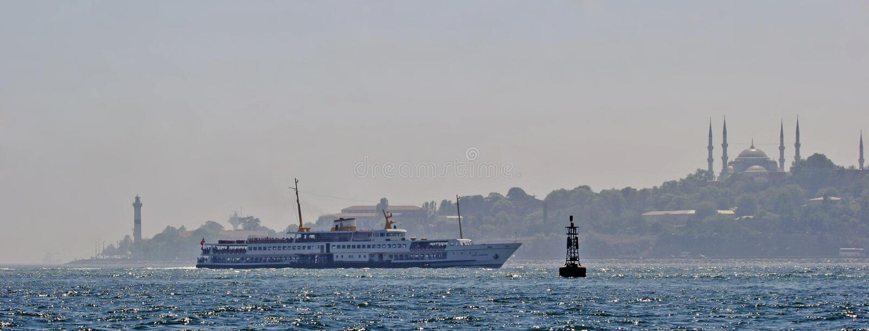 istanbul seascape obraz royalty free
