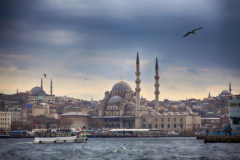 Istanbul Skyline stock image