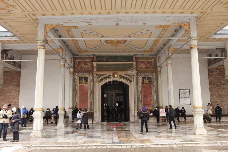 istanbul slotttopkapi royaltyfria bilder