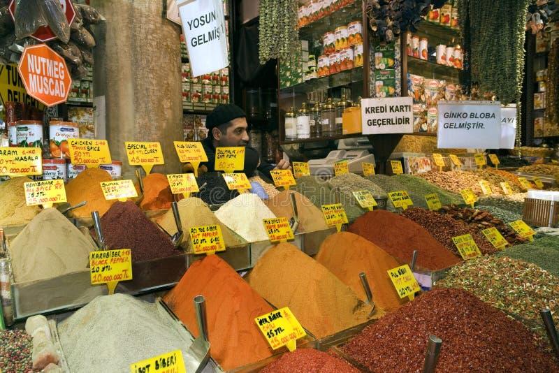Istanbul Spice Market - Turkey Editorial Photo