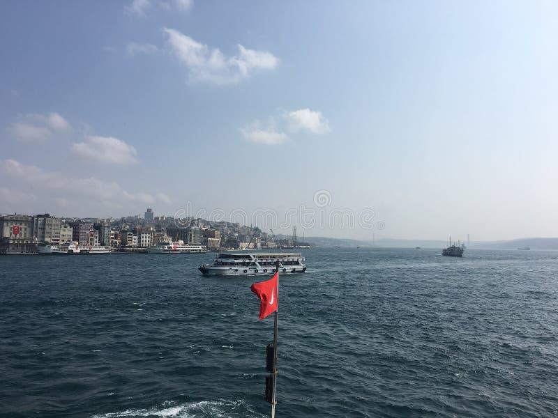 Istanbul stadssikt, Turkiet royaltyfria foton