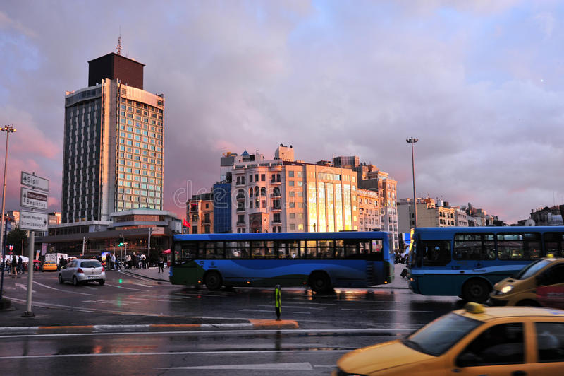 Istanbul-Stadt, die Türkei stockbild