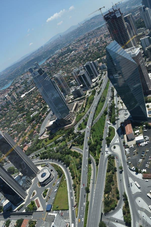Istanbul-Stadt, die Türkei lizenzfreie stockfotos