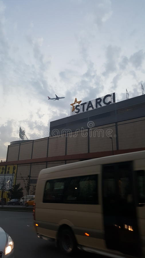 Istanbul Starcity Departure royalty free stock image