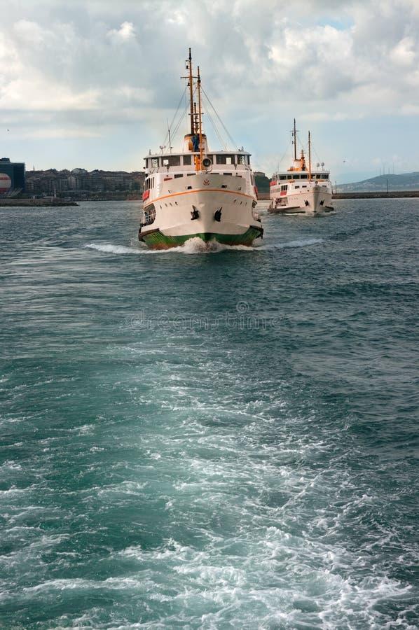 istanbul statki zdjęcia stock