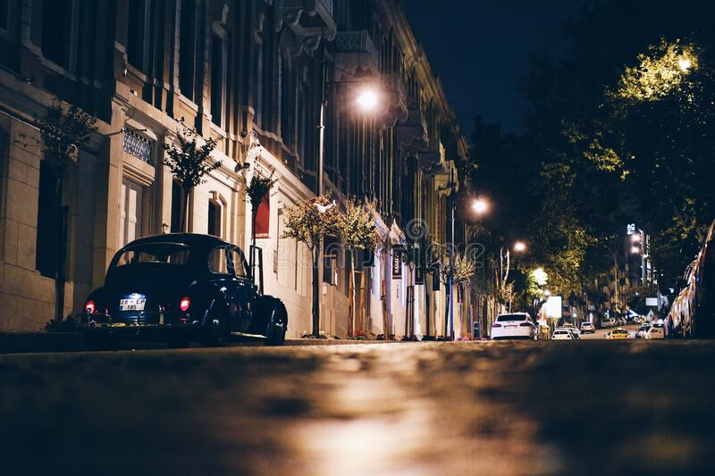 Istanbul Street At Night Free Public Domain Cc0 Image