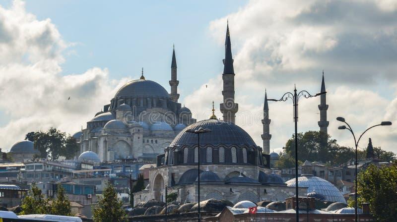 istanbul suleymaniye indyk meczetowy obraz stock