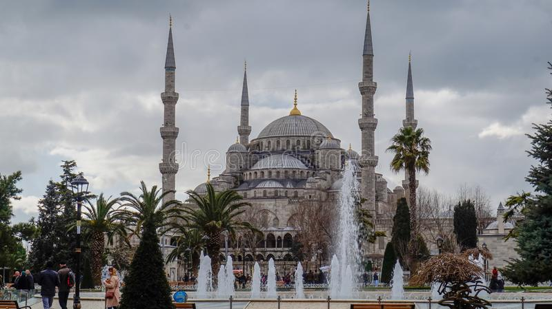 Istanbul Sultan Ahmed Mosque stockfotografie