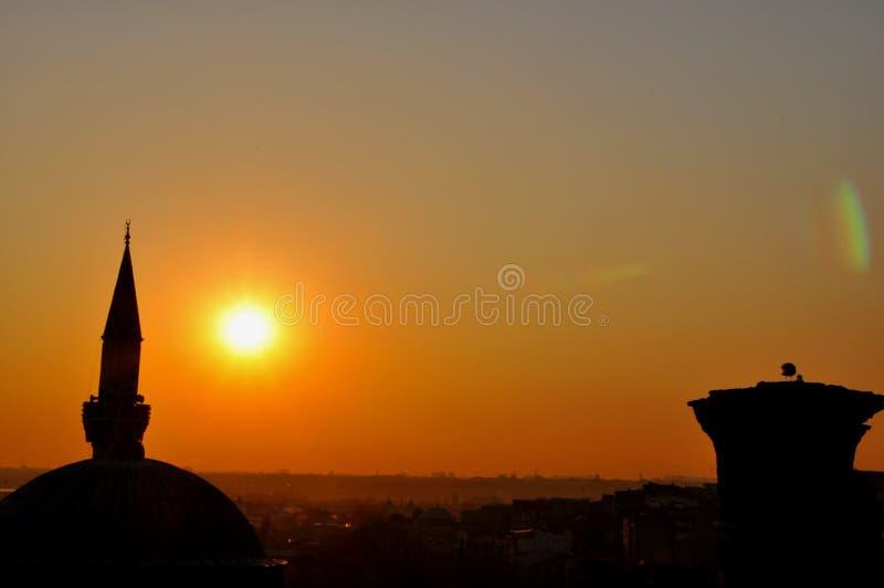 Download Istanbul sunset stock photo. Image of muslim, eavening - 39512402