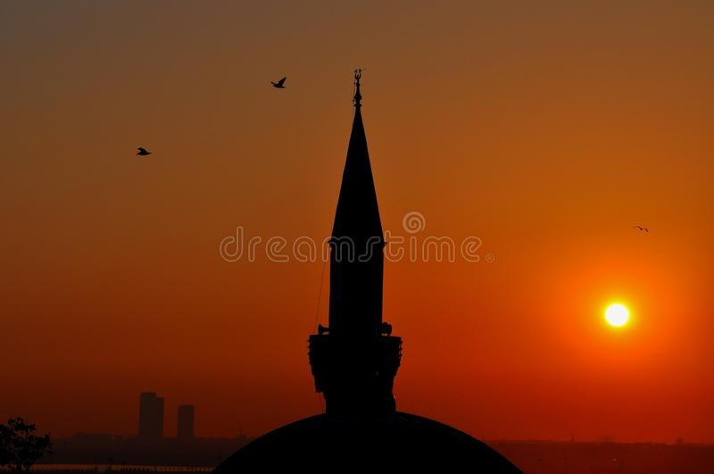 Download Istanbul sunset stock image. Image of eavening, asian - 39512411