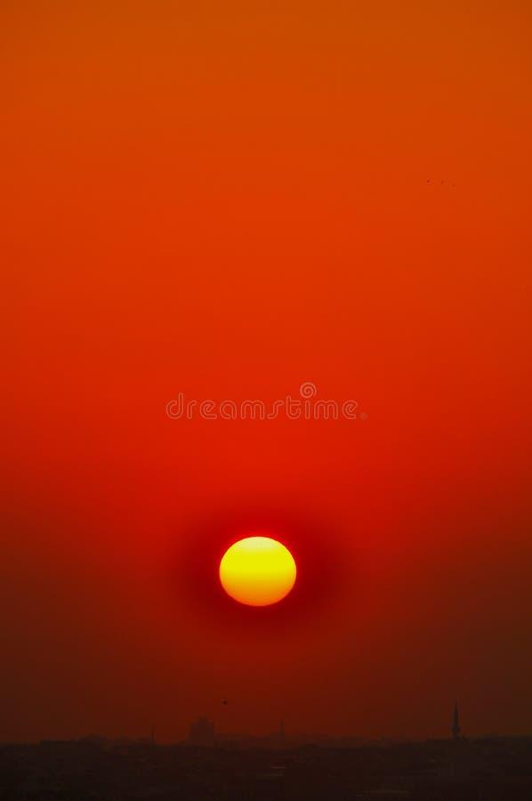 Download Istanbul sunset stock image. Image of religion, orange - 39512417