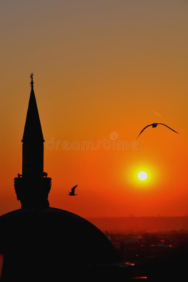 Download Istanbul sunset stock photo. Image of beauty, asia, skyline - 39512420
