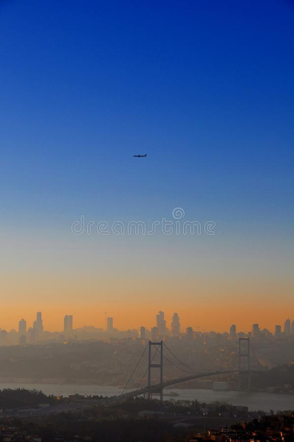 Download Istanbul sunset stock photo. Image of europe, skyline - 39512896