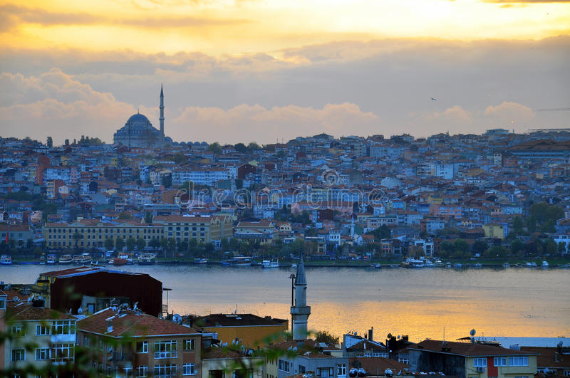 Download Istanbul On Sunset Royalty Free Stock Images - Image: 33168509
