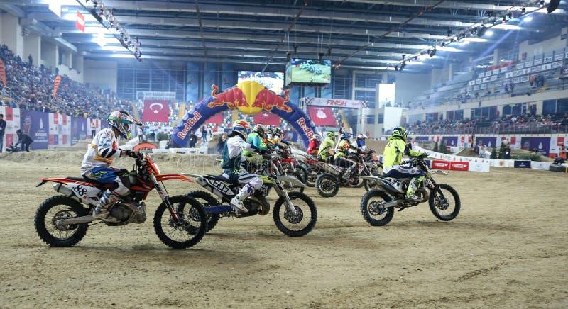 Istanbul Superenduro championship stock image