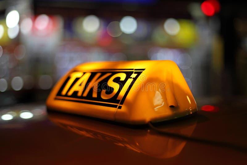 Istanbul taxi royalty free stock photos