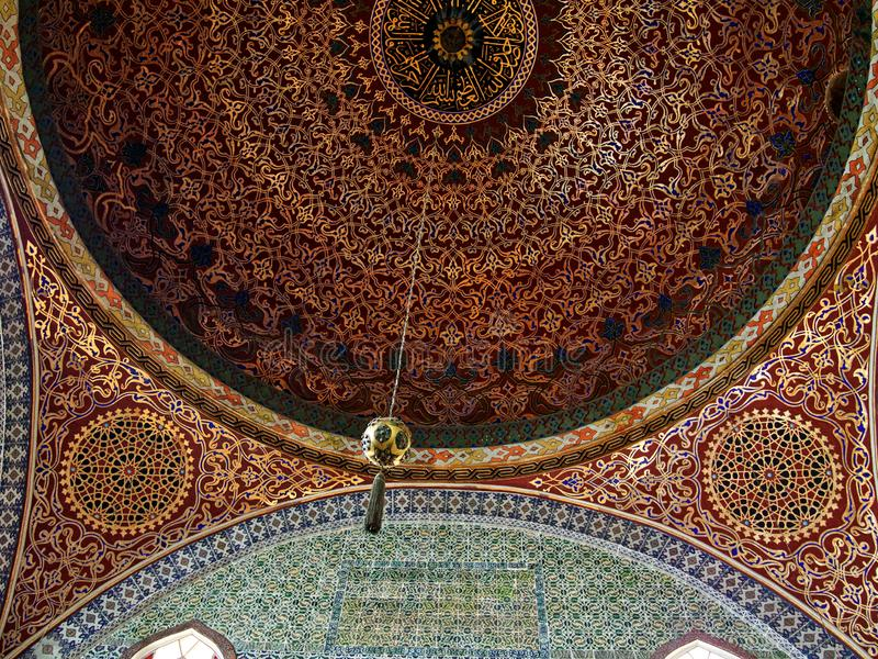 Harem palace Topkapi stock images