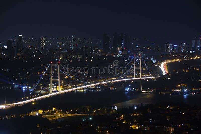 Istanbul, Turkey At Night Free Public Domain Cc0 Image