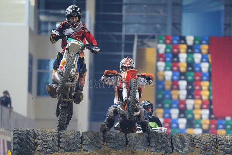 Istanbul Superenduro championship royalty free stock images