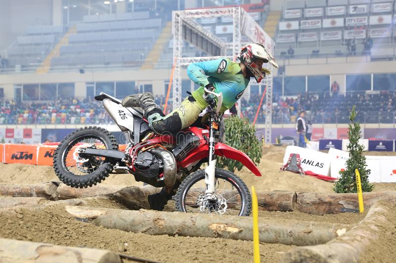 Istanbul Superenduro championship royalty free stock photography