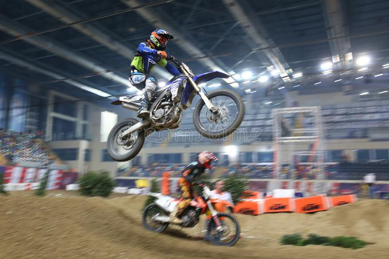 Download Istanbul Supercross Championship Editorial Photography - Image of racer, motocross: 110947822