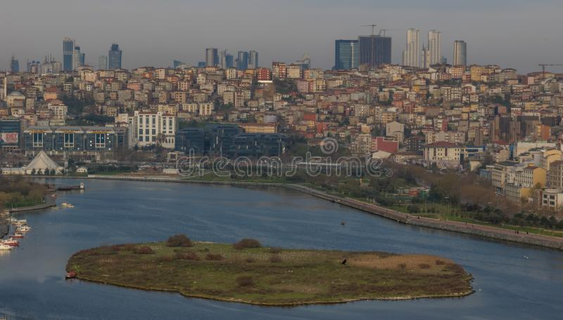 The wonderful view of Pierre Lotil, Istanbul royalty free stock images