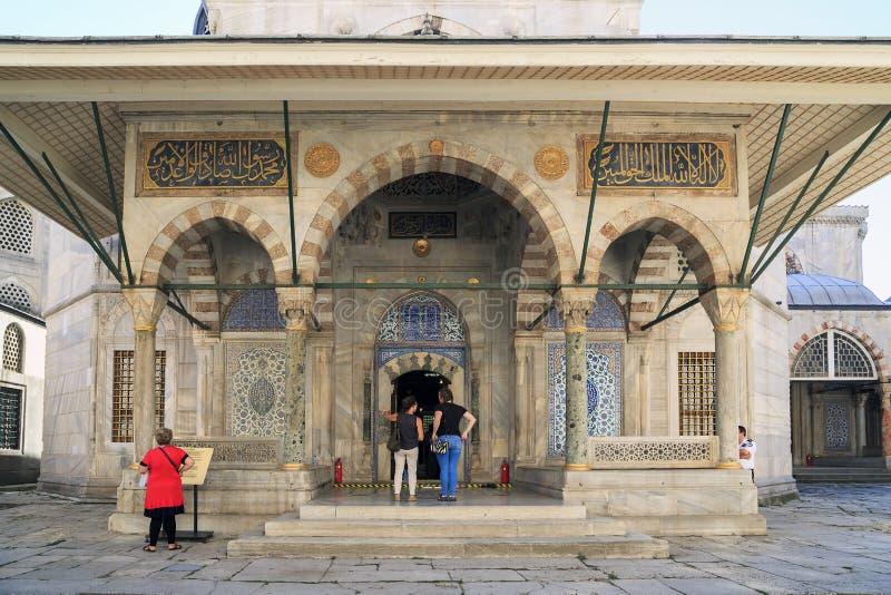 Mausoleum of Sultan Selim II, Istanbul royalty free stock image