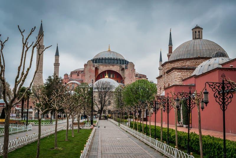 Istanbul, Turquie - 6 28 2018 : Hagia Sophia photos stock