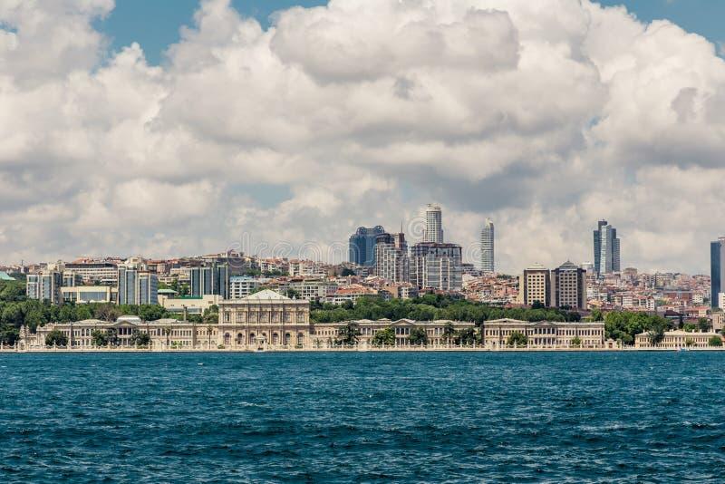 Istanbul, Turquie, le 9 juin 2013 : Palais de Dolmabahce photo stock