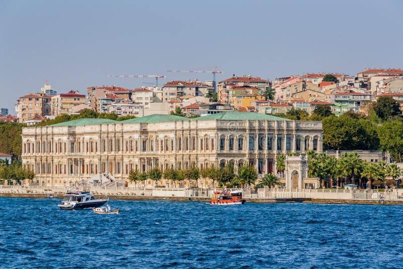 Istanbul, Turquie, le 8 octobre 2011 : Hôtel de Kempinski de palais de Cirigan photo libre de droits