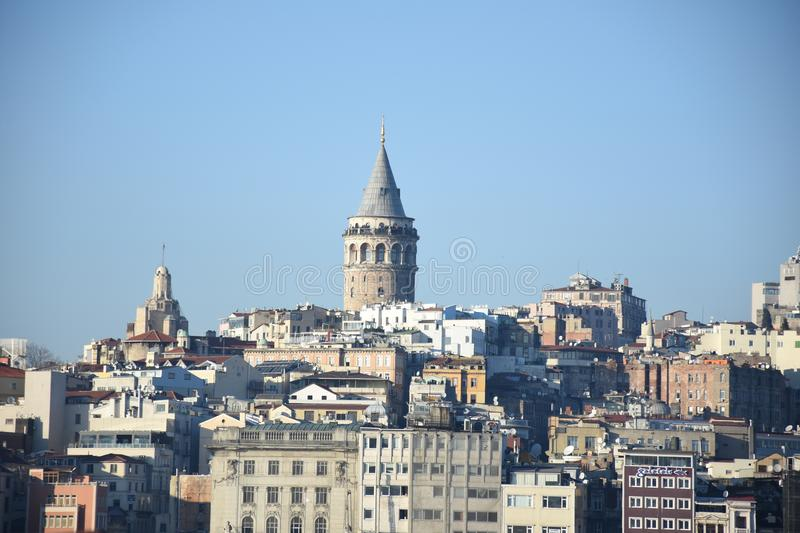Istanbul, Turquie Tour de Galata photo stock