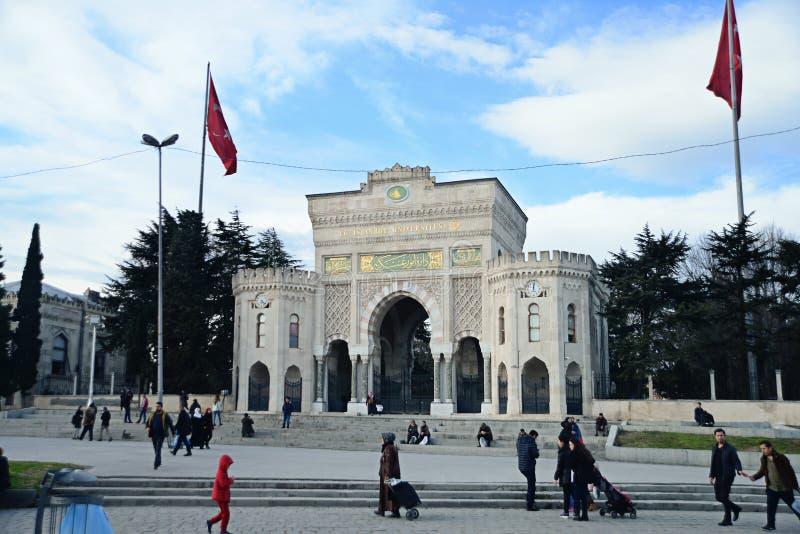 Istanbul universitet royaltyfri fotografi