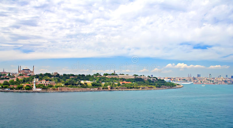 Download Istanbul view stock photo. Image of famous, blue, landmark - 27857230