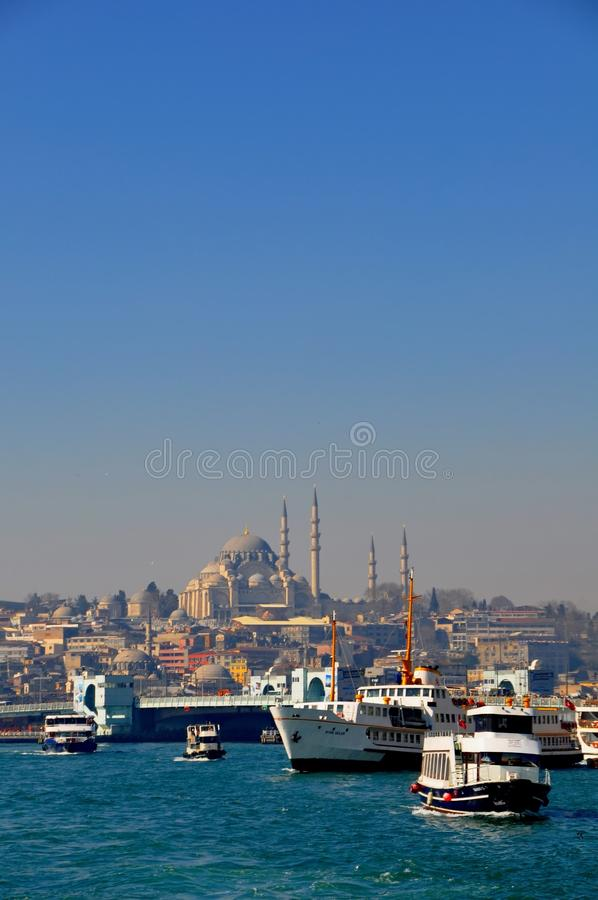 Download Istanbul editorial stock image. Image of water, built - 39512614