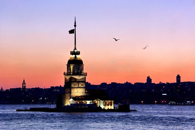 istanbul zmierzch fotografia royalty free