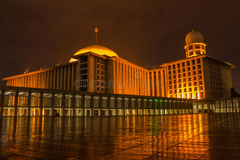 Istiqlal Mosque royalty free stock image