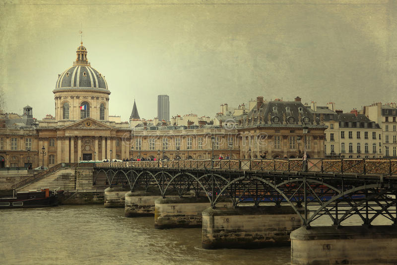 Istituto de Francia, Parigi immagini stock