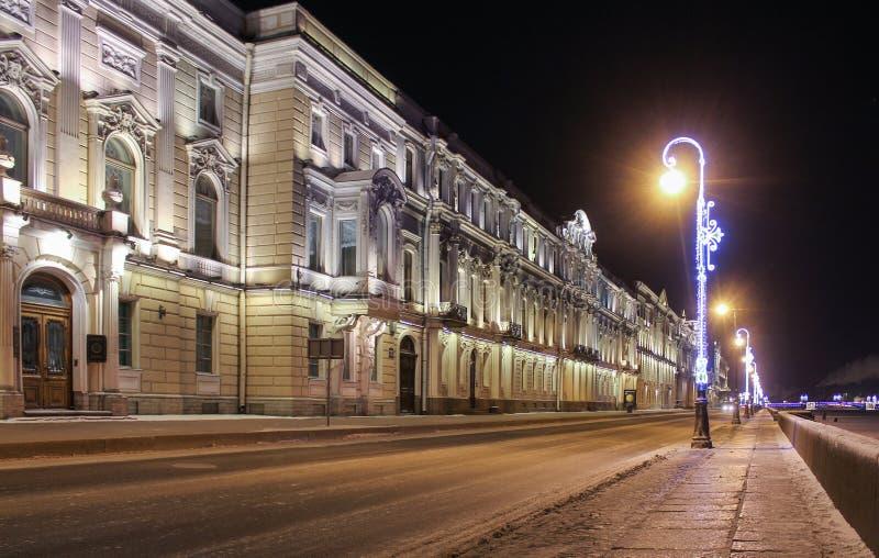 Istituto dei manoscritti orientali dell'accademia russa di Scie fotografia stock