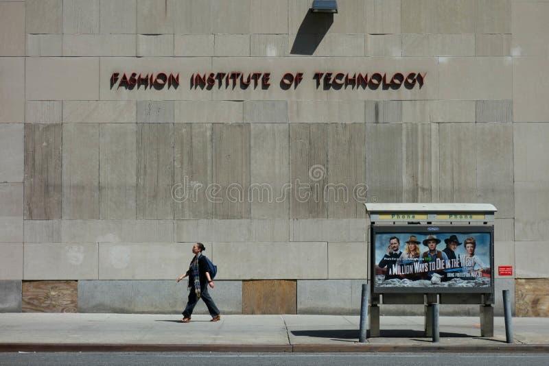 Istituto di tecnologia di modo immagine stock