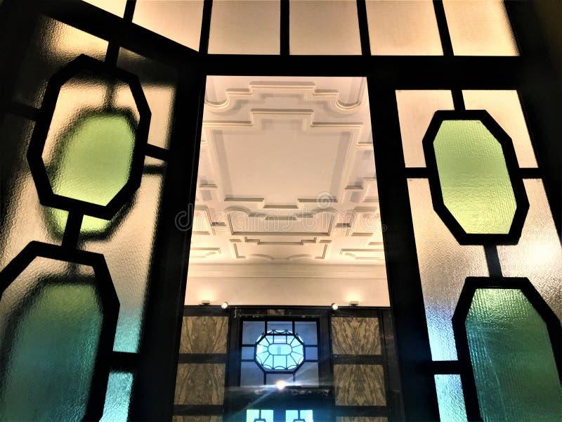 Istituto Nazionale di Ricerca Metrologica INRIM en la ciudad de Turín, Italia Arte, historia, ciencia y arquitectura fotos de archivo