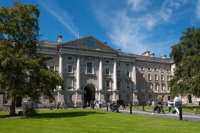 Istituto universitario della trinità, Dublino immagine stock
