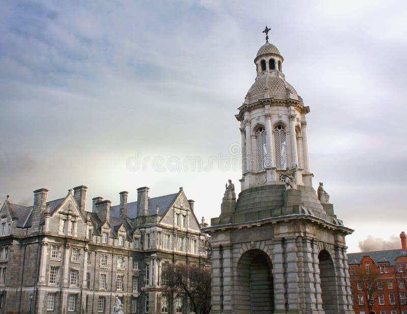 Istituto universitario della trinità, Dublino fotografia stock libera da diritti