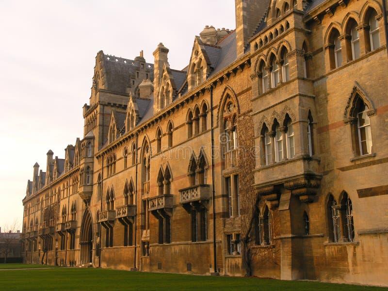 Istituto universitario di Christchurch, Oxford fotografie stock