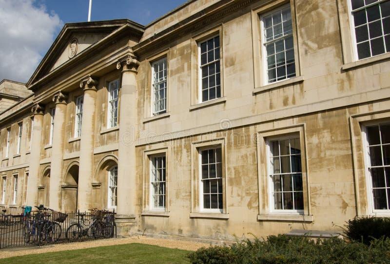 Istituto universitario di Emmanuel, Cambridge fotografia stock