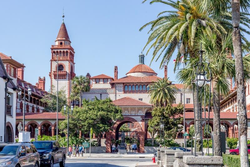Istituto universitario di Flagler in st Augustine Florida fotografia stock libera da diritti