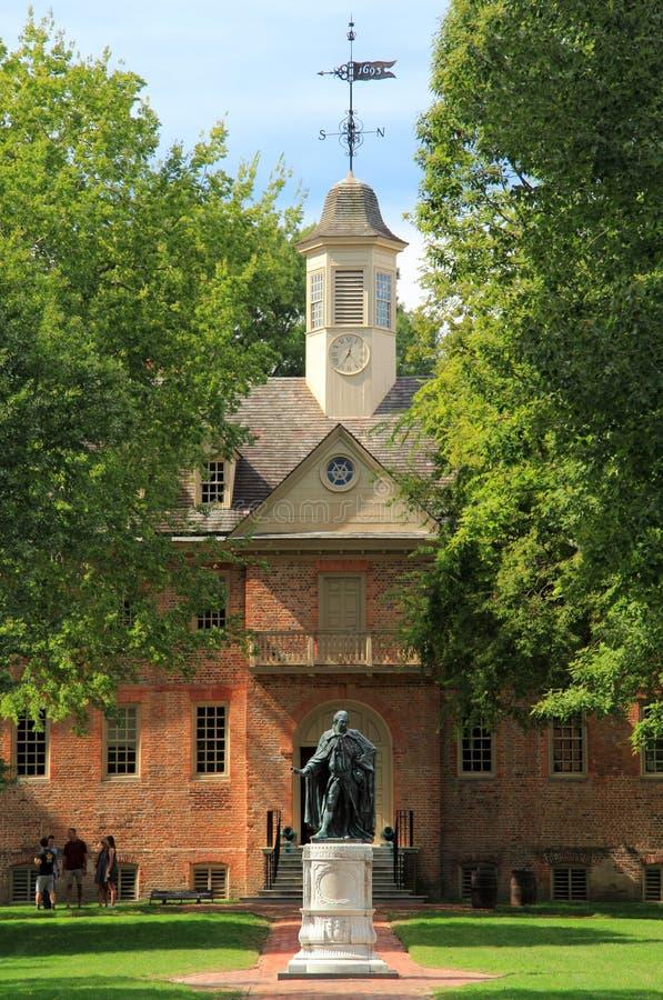 Istituto universitario di William e di Mary fotografie stock libere da diritti